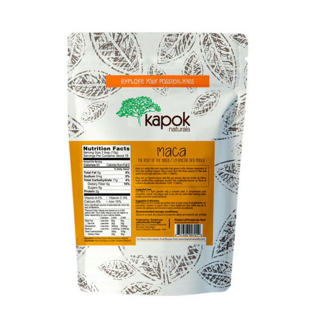 Organic Maca Powder - 8 oz.