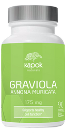 Graviola Soft Gel Capsules 175mg - 90ct
