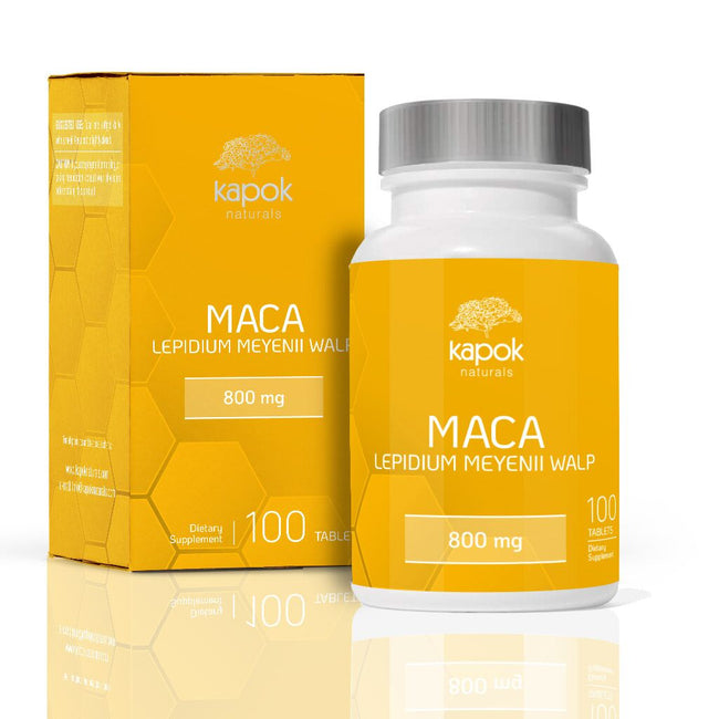 Maca Root Tablets 800mg - 60 Day Supply