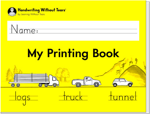 HWT - 1st Grade - My Printing Book First Grade