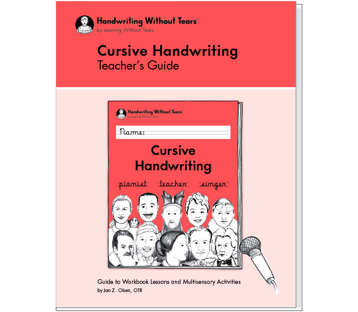 HWT 3rd Grade Cursive Handwriting Teacher's Guide