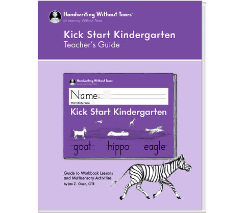 HWT 04 - Kick Start Kindergarten Teacher's Guide