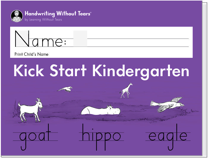 HWT - Pre K - Kick Start Kindergarten