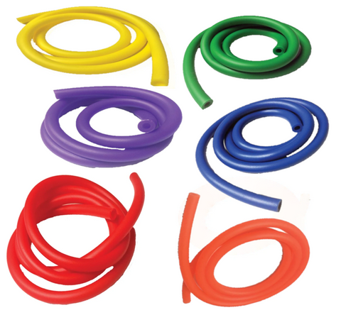 Latex Free Tubing - 6 Pack - 1 each of 1m length of the 6 different tubing levels