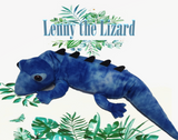 "Weighted Lizard 2.8 kg - The Plush Lizard ""Lenny"""