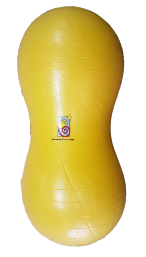 Peanut Ball 45cm Anti-Burst - Yellow - includes pump