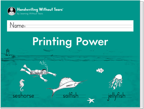 HWT - 2nd Grade - Printing Power Workbook