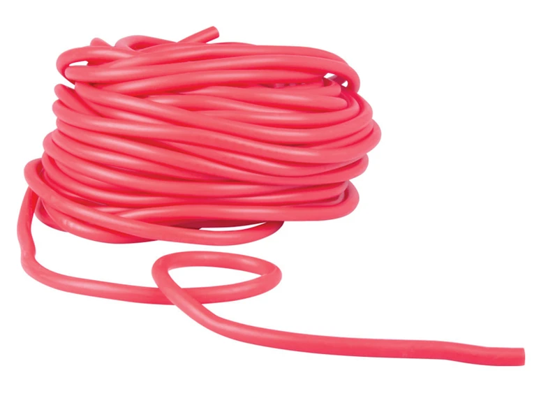 Latex Free Tubing Level 1 - Red - Extra Light - Bulk 25m Roll