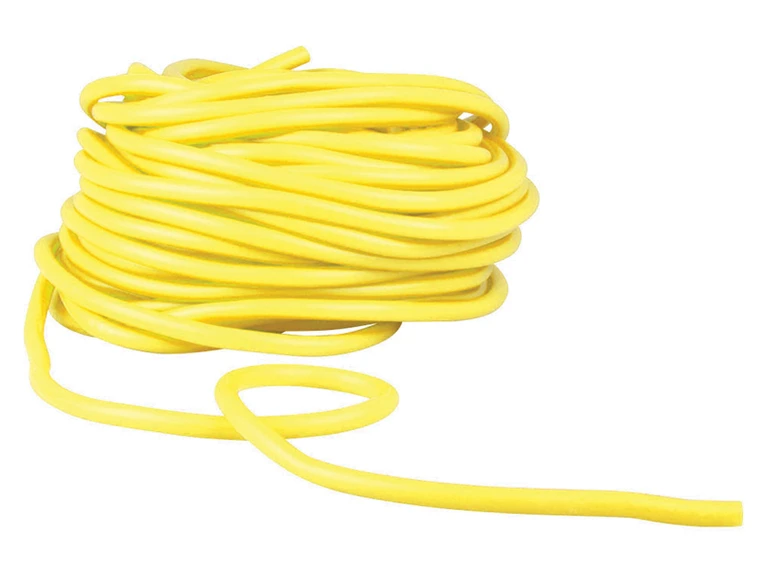 Latex Free Tubing Level 3 - Yellow - Medium - Bulk 25m Roll