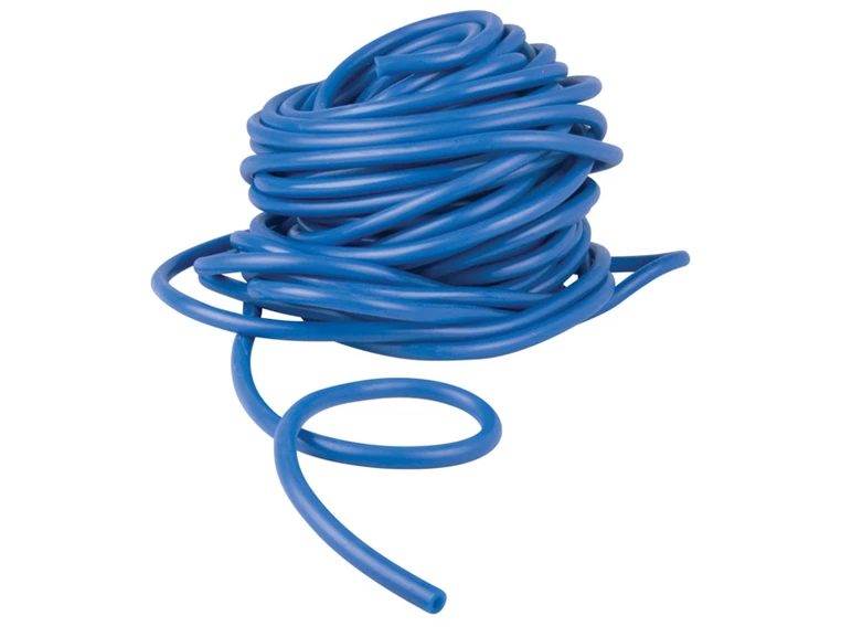 Latex Free Tubing Level 4 - Blue - Heavy - Bulk 25m Roll