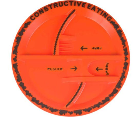 Construction Eating - Plates