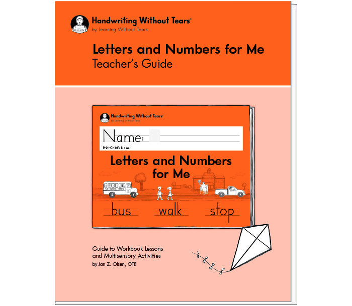 HWT 06 - Kindergarten - Letters and Numbers for Me Teacher's Guide