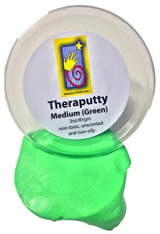 Theraputty - Medium (Green) Quality Grade
