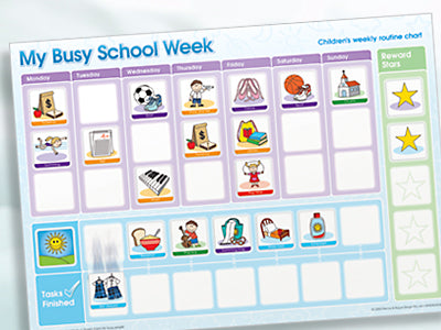 Magnetic Moves - My Busy School Week