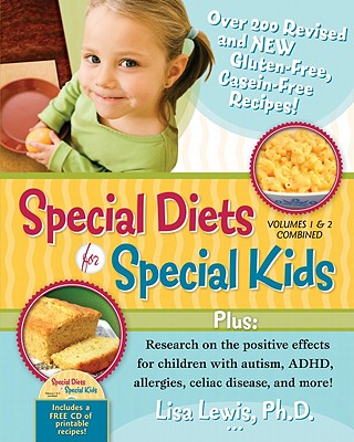 Special Diets for Special Kids Volumes 1&2 combined, includes CD of 200 printablle recipes
