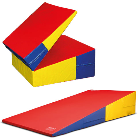 Soft Play Folding Incline Mat - Large