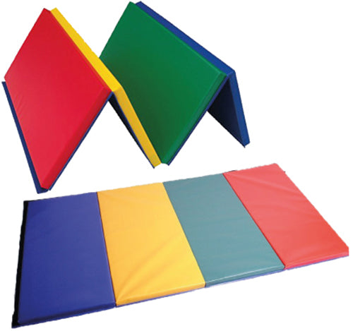 Soft Play Rainbow Mat - 4 Panel (with Velcro)