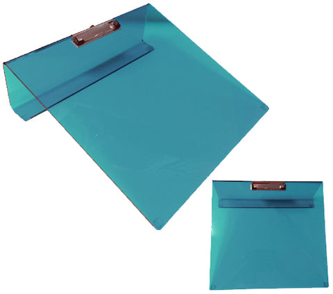 Writing Slope / Slant Board (Coloured Perspex) with Clip