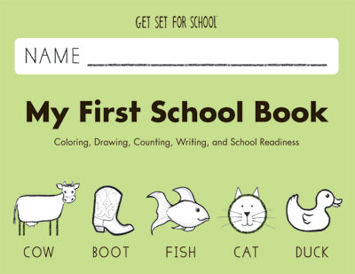 HWT 01 - Pre K - My First School Book