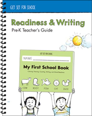 HWT 02 - Pre K - Readiness & Writing Teacher's Guide