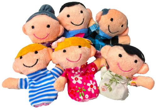 Finger Puppets - Family Group