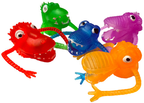 Finger Puppets - Monster 5 Pk