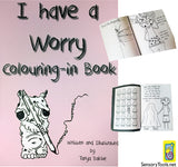 I Have A Worry Colouring in Book