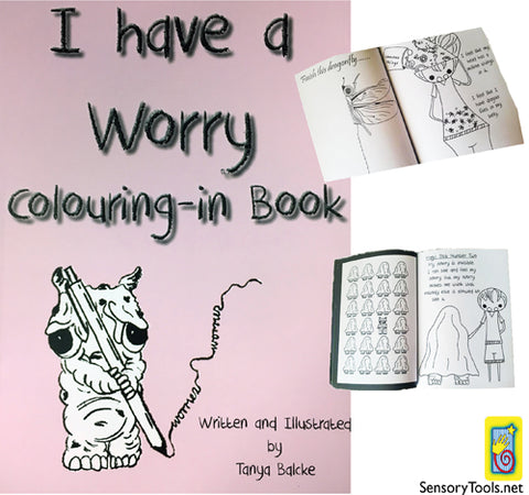 I Have A Worry - Colouring in Book