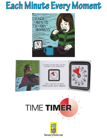 Time Timer - Each Minute Every Moment - Book