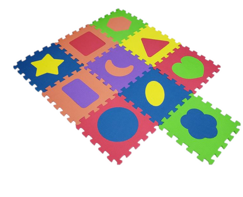 Foam Puzzle Play Mats + Carry bag (6 different designs)