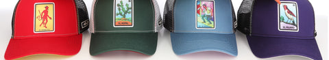 Womens Five Panel Hats