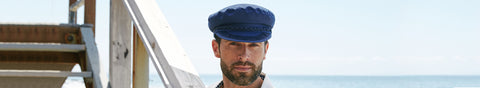 Mens Skipper Hat