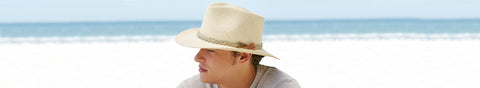 Mens Wide Brim Hats