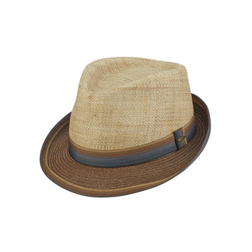 Scala Straw Fedora- Saint Louis Womens Fedora Hats \u2013 Tenth Street