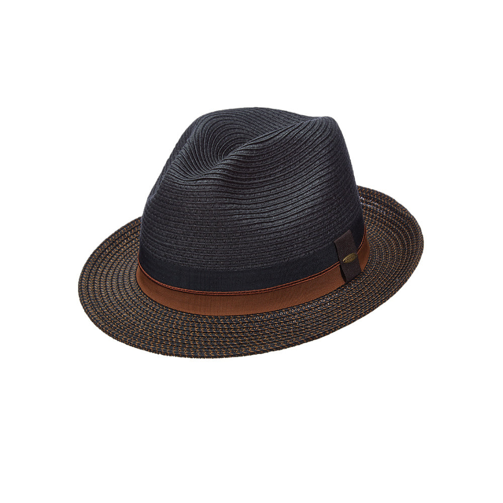 52d92ef2dc2f40 Scala Straw Fedora- York – Tenth Street Hats