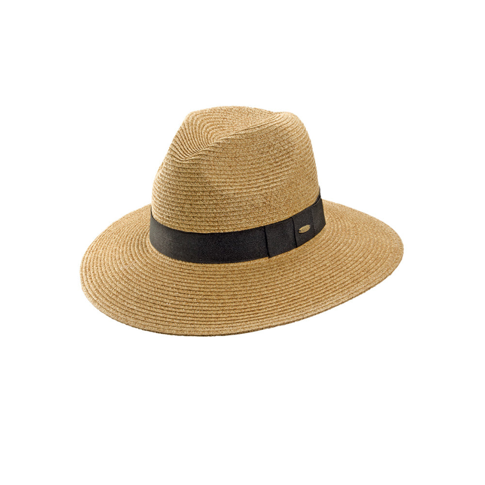 fcfc157eb7bffe Scala Straw Fedora- Helena – Tenth Street Hats