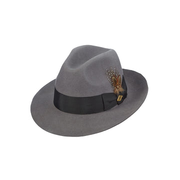 de2fc3e218a Stacy Adams Wool Felt Fedora- Cleveland