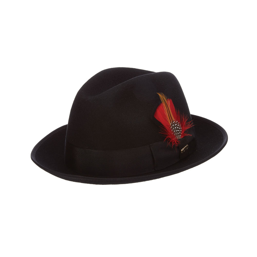 a6d27a20906d38 Scala Wool Felt Fedora- Uptown – Tenth Street Hats