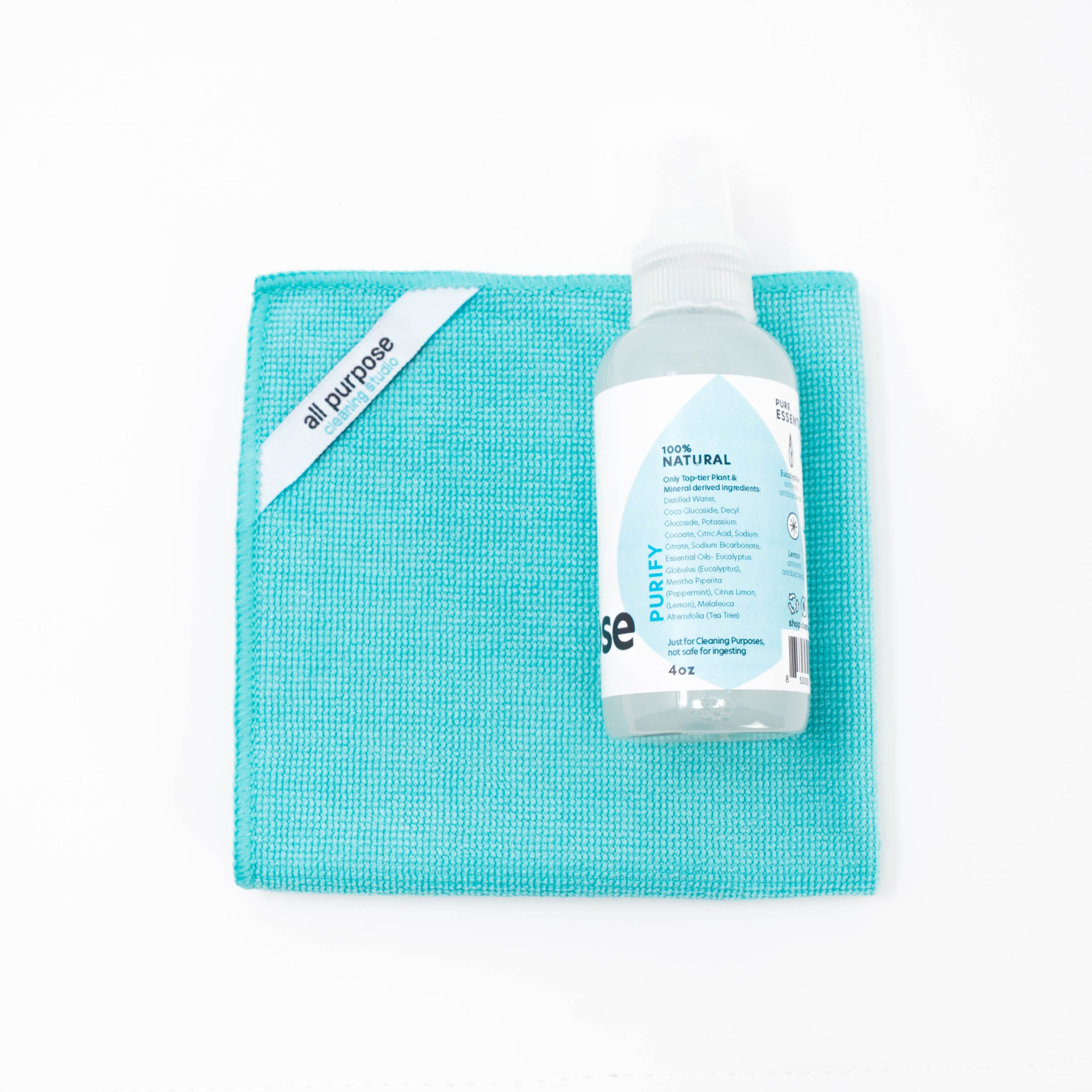Mini All Purpose Cleaning Kit (4oz) | Portable All Purpose Cleaner Kit