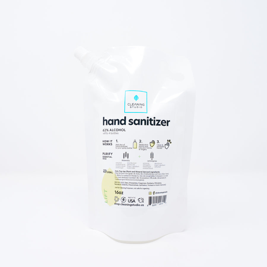Hand Sanitizer Refill Bag - Lift Blend Pack | Cleaning Studio