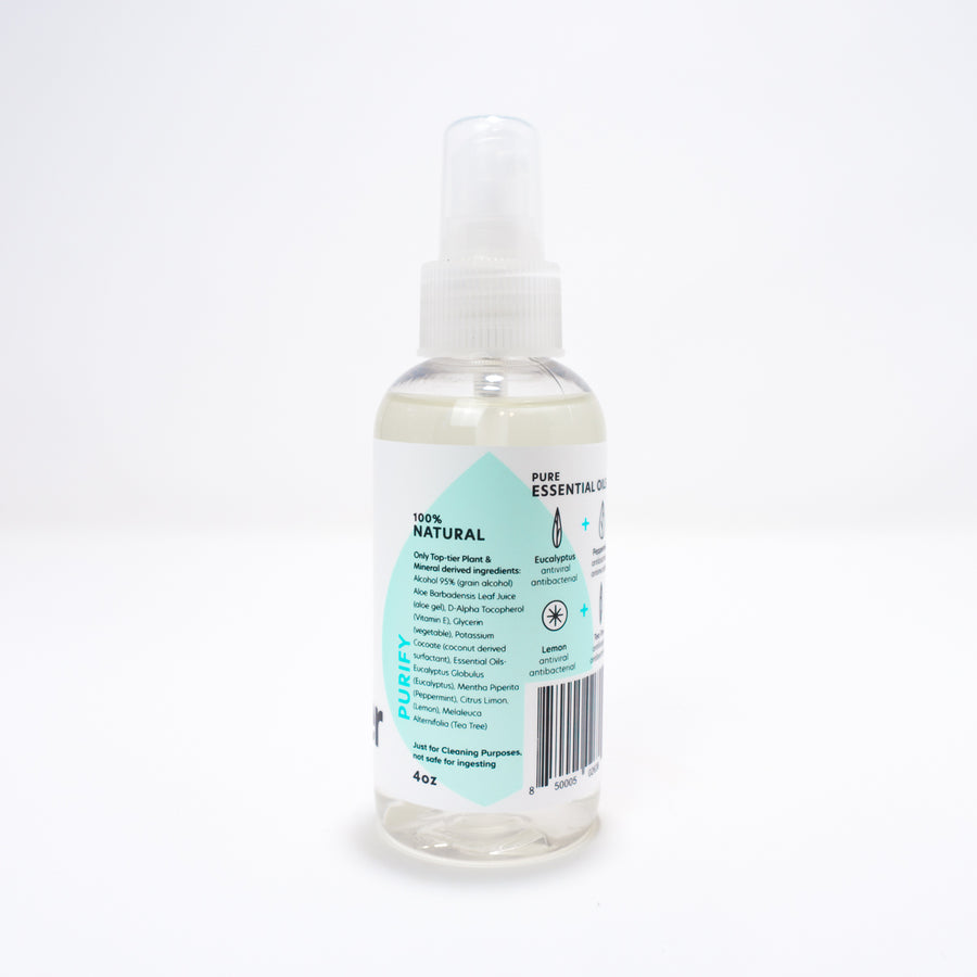 Hand Sanitizer (4oz) - Purify Blend | Cleaning Studio