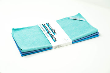 Microfiber Cleaning Cloth - All Purpose Kit (3-Pack) | Cleaning Studio