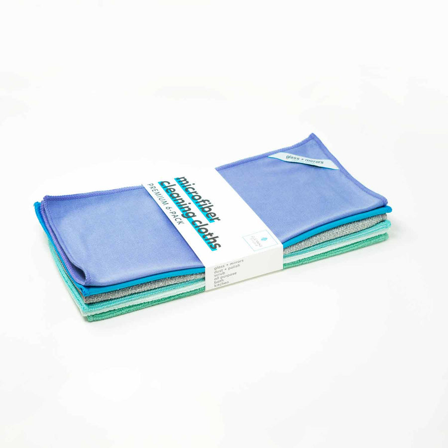 Microfiber Cleaning Cloth - Kit | Cleaning Studio