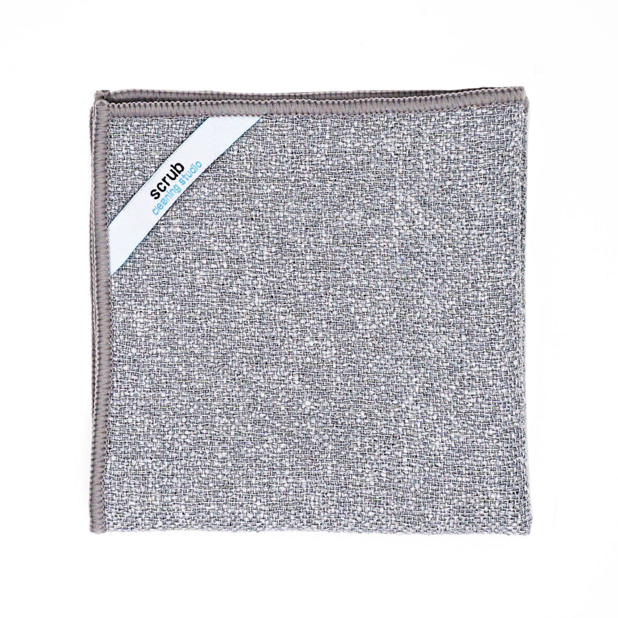 Scrub Premium Microfiber Cleaning Towel by Cleaning Studio | Folded