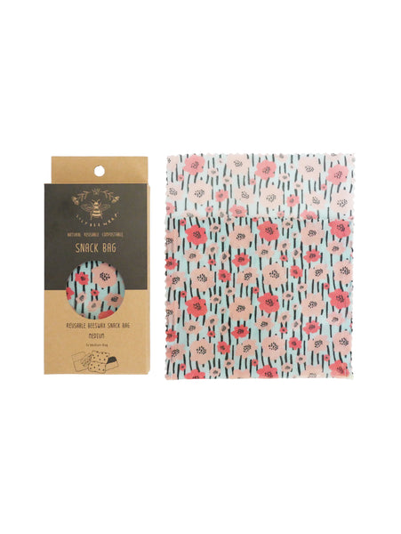 Spring Fling - Medium Snack Bag (Organic Cotton)