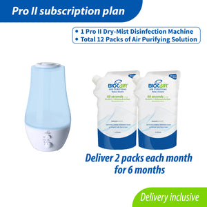 Disinfectant Pro II Subscription Plan