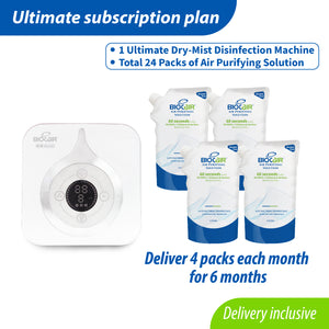 Ultimate Aerial Disinfectant Subscription Plan