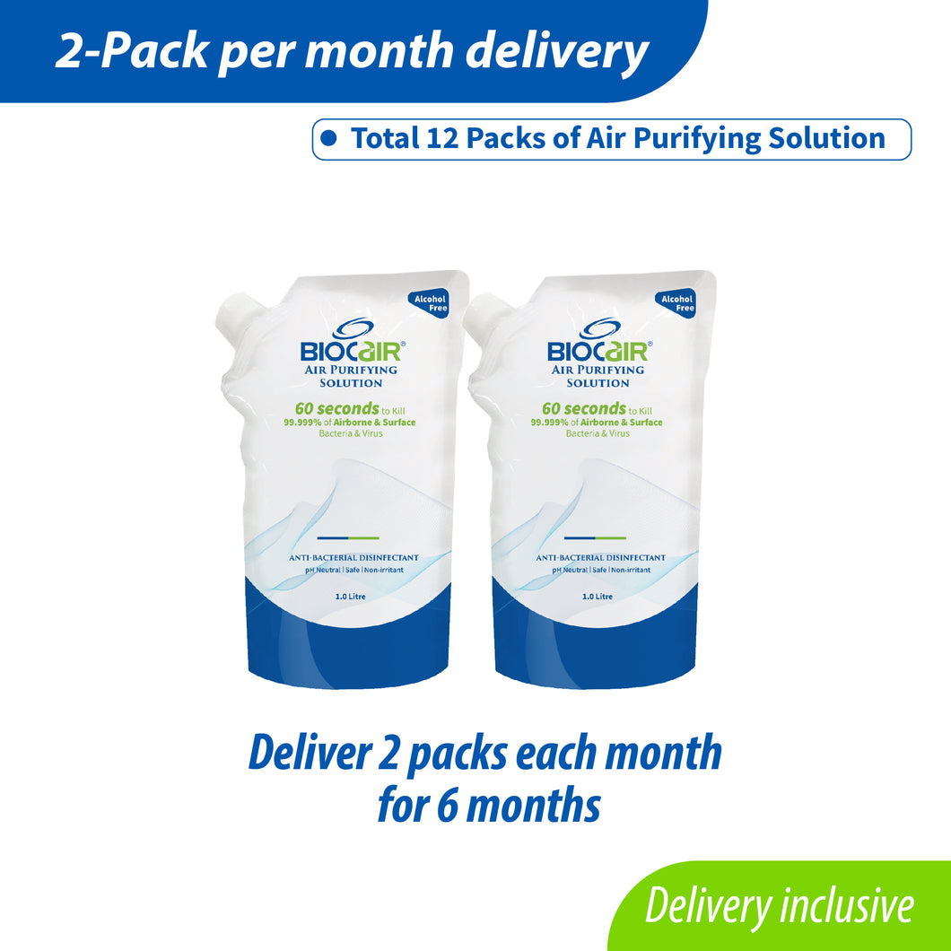 2-Pack Disinfectant Subscription Plan