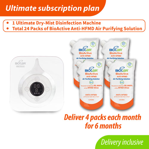 BioActive Anti-HFMD Ultimate Subscription Plan