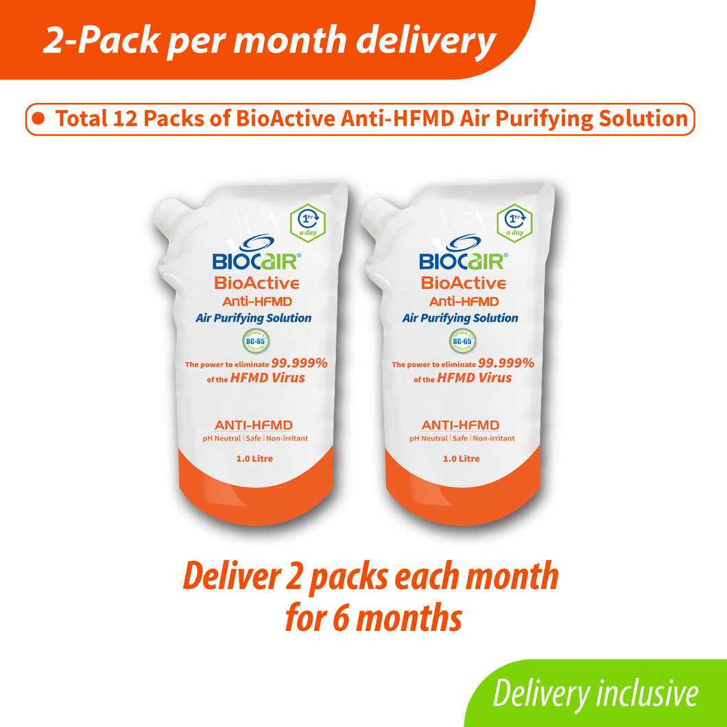 2-Pack BioActive Anti-HFMD Subscription Plan